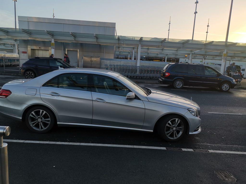 Mercedes E Class Cardiff Chauffeur